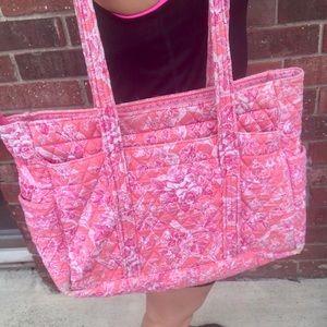 Vera Bradley Pink Floral Tote Bag